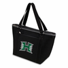 Picnic Time Topanga Digital Print - Black Tote University of Hawaii Warriors