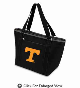 Picnic Time Topanga Digital Print - Black Tote University of Tennessee Volunteers