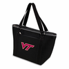 Picnic Time Topanga Digital Print - Black Tote Virginia Tech Hokies