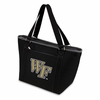 Picnic Time Topanga Digital Print - Black Tote Wake Forest Demon Deacons