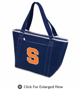 Picnic Time Topanga Digital Print - Navy Tote Syracuse University Orange