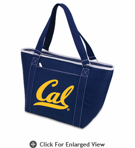 Picnic Time Topanga Digital Print - Navy Tote UC Berkeley Golden Bears