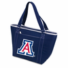 Picnic Time Topanga Digital Print - Navy Tote University of Arizona Wildcats