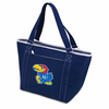 Picnic Time Topanga Digital Print - Navy Tote University of Kansas Jayhawks