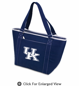 Picnic Time Topanga Digital Print - Navy Tote University of Kentucky Wildcats