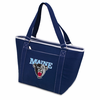 Picnic Time Topanga Digital Print - Navy Tote University of Maine Black Bears