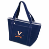Picnic Time Topanga Digital Print - Navy Tote University of Virginia Cavaliers