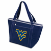 Picnic Time Topanga Digital Print - Navy Tote West Virginia University Mountaineers