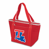 Picnic Time Topanga Digital Print - Red Tote Louisiana Tech Bulldogs