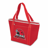 Picnic Time Topanga Digital Print - Red Tote Miami University Red Hawks