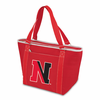Picnic Time Topanga Digital Print - Red Tote Northeastern University Huskies