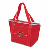 Picnic Time Topanga Digital Print - Red Tote Texas Tech Red Raiders