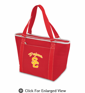 Picnic Time Topanga Digital Print - Red Tote USC Trojans