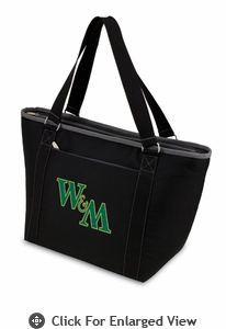 Picnic Time Topanga Embroidered - Black Tote College of William & Mary Griffin