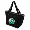 Picnic Time Topanga Embroidered - Black Tote Colorado State Rams