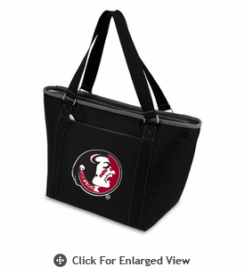 Picnic Time Topanga Embroidered - Black Tote Florida State Seminoles