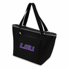 Picnic Time Topanga Embroidered - Black Tote LSU Tigers