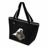 Picnic Time Topanga Embroidered - Black Tote Purdue University Boilermakers
