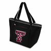 Picnic Time Topanga Embroidered - Black Tote Texas A & M Aggies