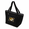 Picnic Time Topanga Embroidered - Black Tote University of Missouri Tigers