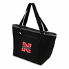 Picnic Time Topanga Embroidered - Black Tote University of Nebraska Cornhuskers