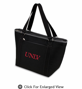 Picnic Time Topanga Embroidered - Black Tote University of Nevada LV Rebels