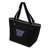 Picnic Time Topanga Embroidered - Black Tote University of Washington Huskies