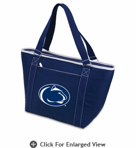 Picnic Time Topanga Embroidered - Navy Tote Penn State Nittany Lions