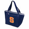 Picnic Time Topanga Embroidered - Navy Tote Syracuse University Orange
