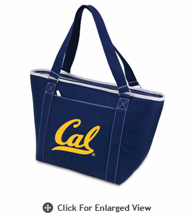 Picnic Time Topanga Embroidered - Navy Tote UC Berkeley Golden Bears