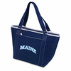 Picnic Time Topanga Embroidered - Navy Tote University of Maine Black Bears