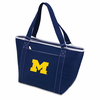 Picnic Time Topanga Embroidered - Navy Tote University of Michigan Wolverines