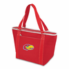 Picnic Time Topanga Embroidered - Red Tote University of Kansas Jayhawks