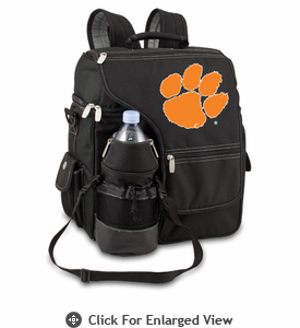 Picnic Time Turismo Black - Digital Print Clemson University Tigers