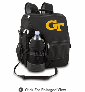 Picnic Time Turismo Black - Digital Print Georgia Tech Yellow Jackets
