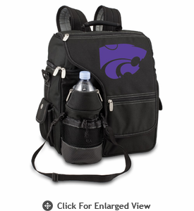 Picnic Time Turismo Black - Digital Print Kansas State Wildcats