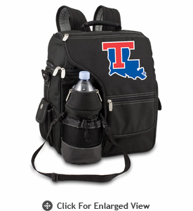 Picnic Time Turismo Black - Digital Print Louisiana Tech Bulldogs
