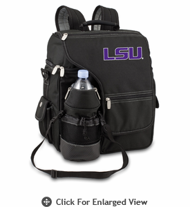 Picnic Time Turismo Black - Digital Print LSU Tigers