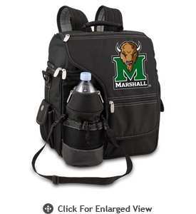Picnic Time Turismo Black - Digital Print Marshall University Thundering Herd
