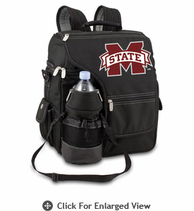 Picnic Time Turismo Black - Digital Print Mississippi State Bulldogs