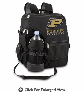 Picnic Time Turismo Black - Digital Print Purdue University Boilermakers