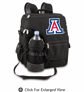 Picnic Time Turismo Black - Digital Print University of Arizona Wildcats