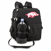 Picnic Time Turismo Black - Digital Print University of Arkansas Razorbacks