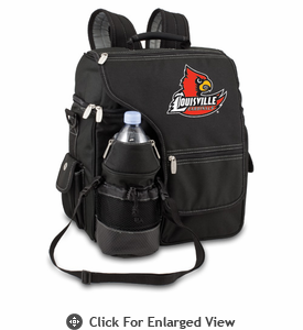 Picnic Time Turismo Black - Digital Print University of Louisville Cardinals