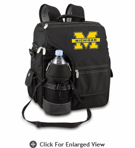 Picnic Time Turismo Black - Digital Print University of Michigan Wolverines
