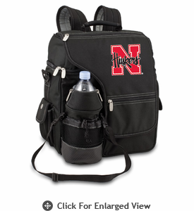 Picnic Time Turismo Black - Digital Print University of Nebraska Cornhuskers