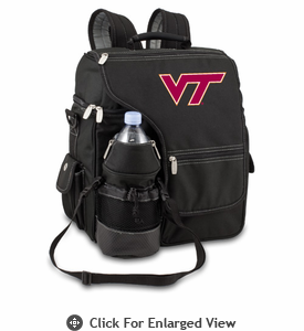 Picnic Time Turismo Black - Digital Print Virginia Tech Hokies