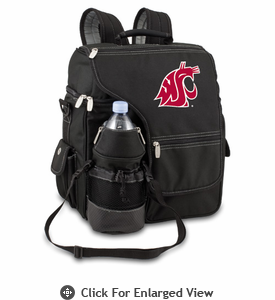 Picnic Time Turismo Black - Digital Print Washington State Cougars