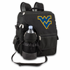 Picnic Time Turismo Black - Digital Print West Virginia University Mountaineers