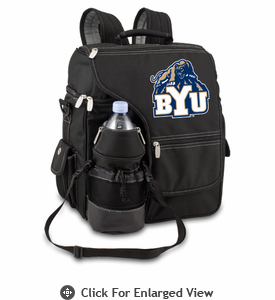 Picnic Time Turismo Black - Embroidered BYU Cougars